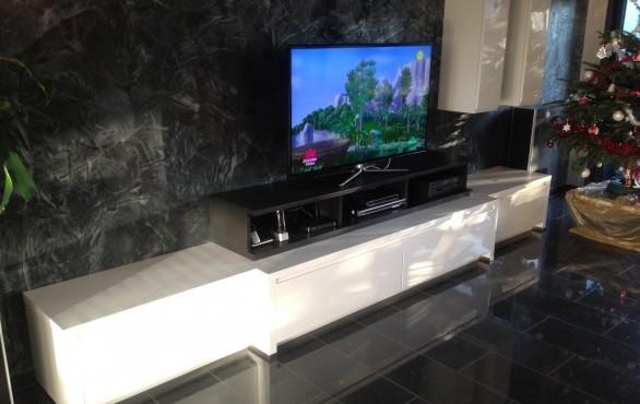 Meuble TV blanc